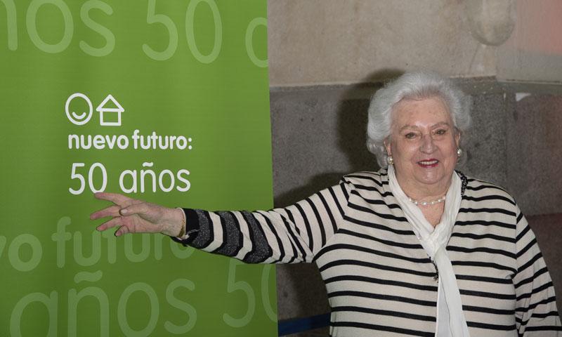 La infanta Doña Pilar preside el acto de conmemoración del 50º aniversario de Nuevo Futuro