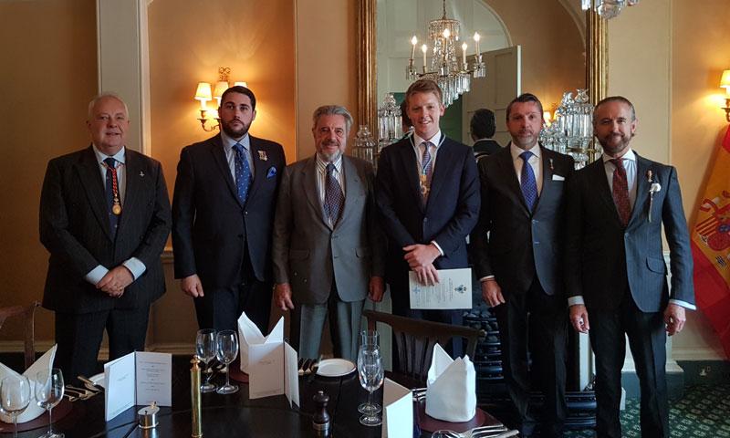 El duque de Westminster ingresa como nuevo miembro del Cuerpo de la Nobleza del Principado de Asturias