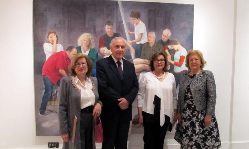 La pintora Soledad Fernández inaugura, de la mano de Mayte Spínola, su exposición de arte