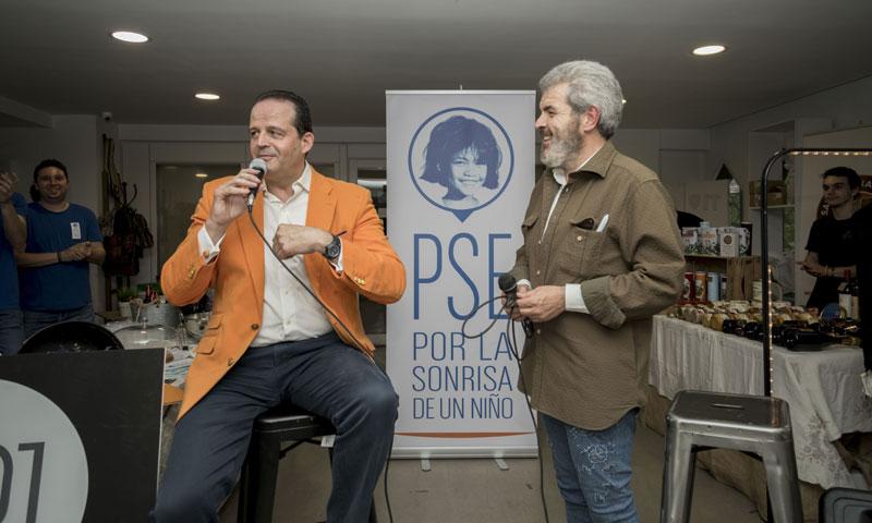 Lorenzo Caprile inaugura el rastrillo benéfico de la fundación 'Por la sonrisa de un niño'