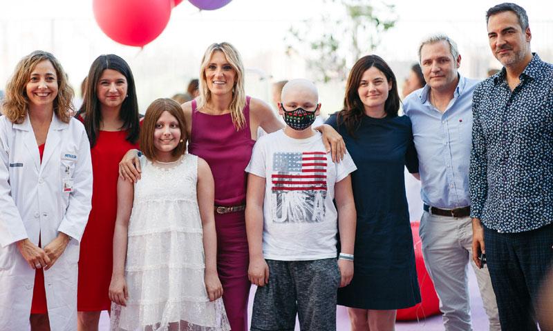 Santiago Cañizares muestra su apoyo, una vez más, a la lucha contra el cáncer infantil