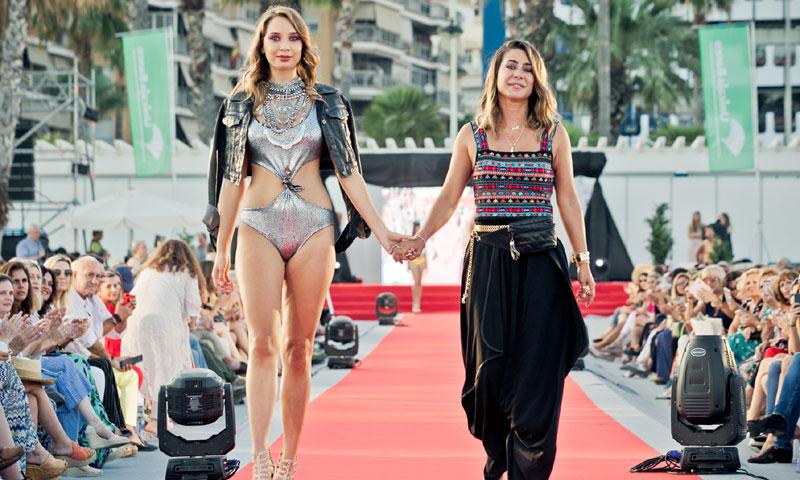 Elena Tablada presentó su nueva colección de baño en la pasarela Málaga Summer