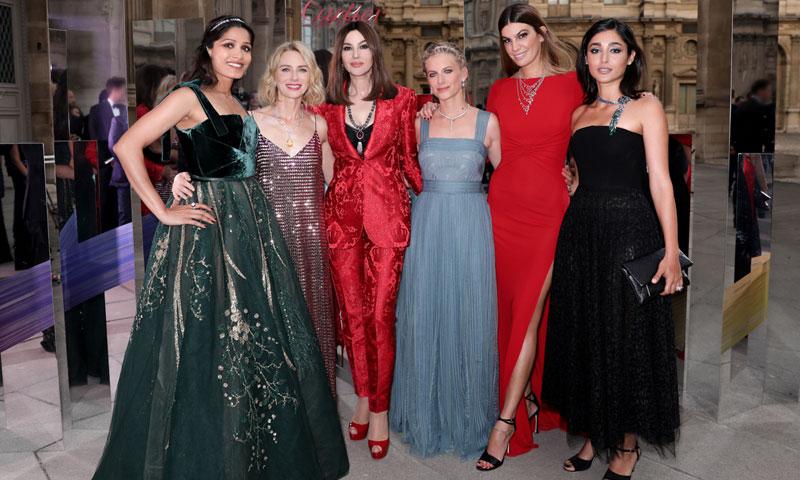 Monica Bellucci y Naomi Watts, dos invitadas de excepción en la cena de gala de Cartier en París