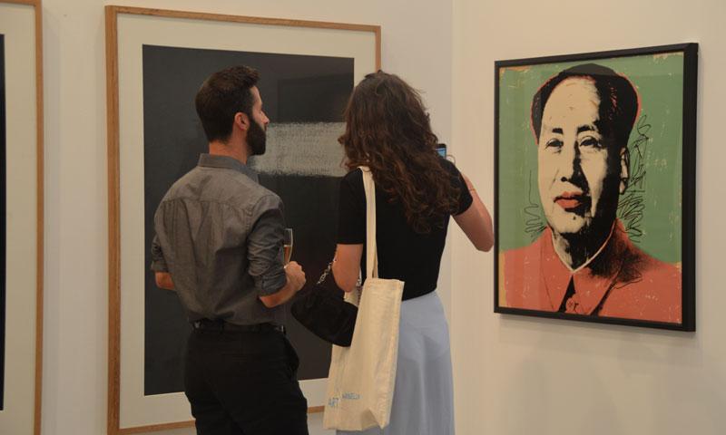 Marbella se convierte en la ciudad del arte contemporáneo gracias a la feria 'Art Marbella'