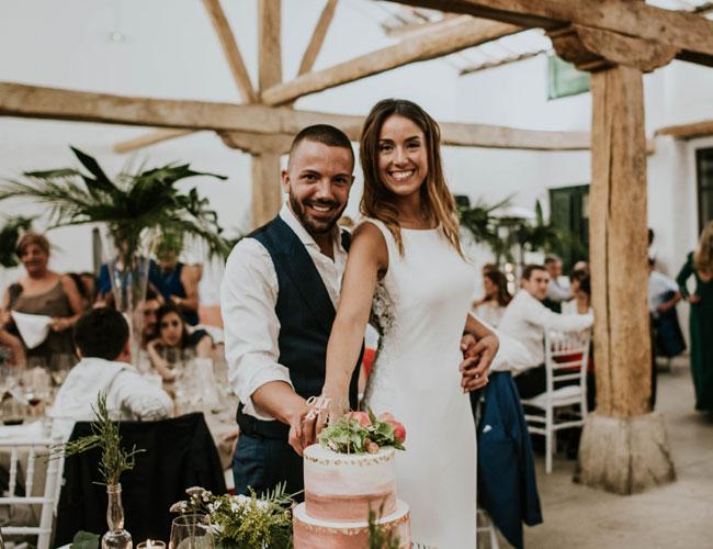 Boda Naiara Gipsy : Naiara y alejandro una boda entre viñedos foto