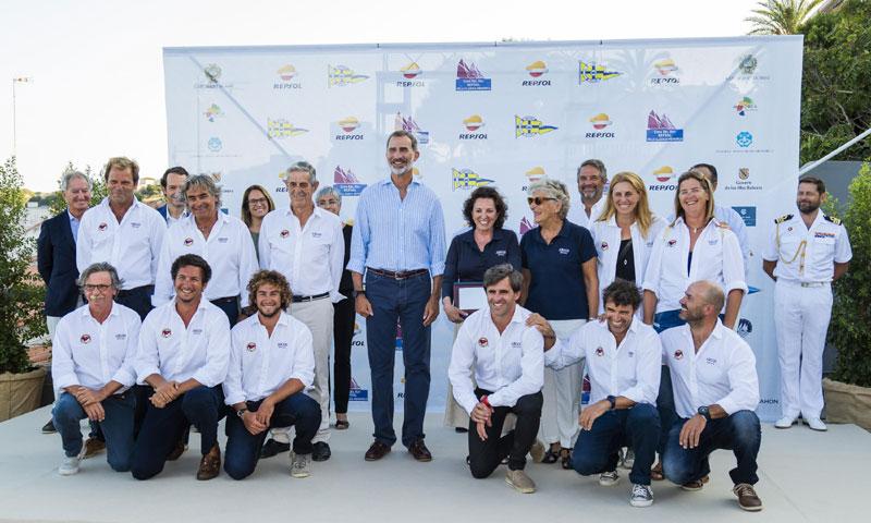 Felipe VI entrega los premios de la XV Copa del Rey Repsol