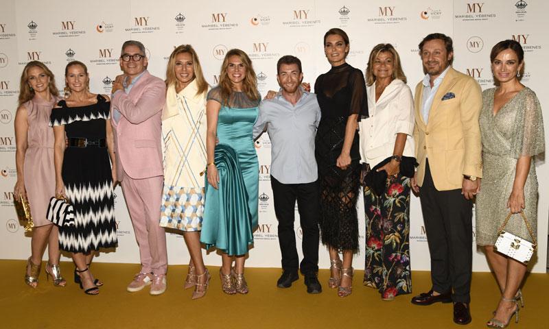 Maribel Yébenes celebra, rodeada de amigos, la apertura de su nuevo centro en Málaga