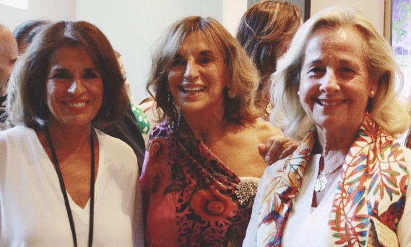Paloma Hinojosa presenta sus 'Obras de luz' en la Fundación Pons