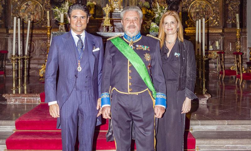 Julián Porras, nombrado 'Caballero de Mérito' del Cuerpo de la Nobleza del Principado de Asturias