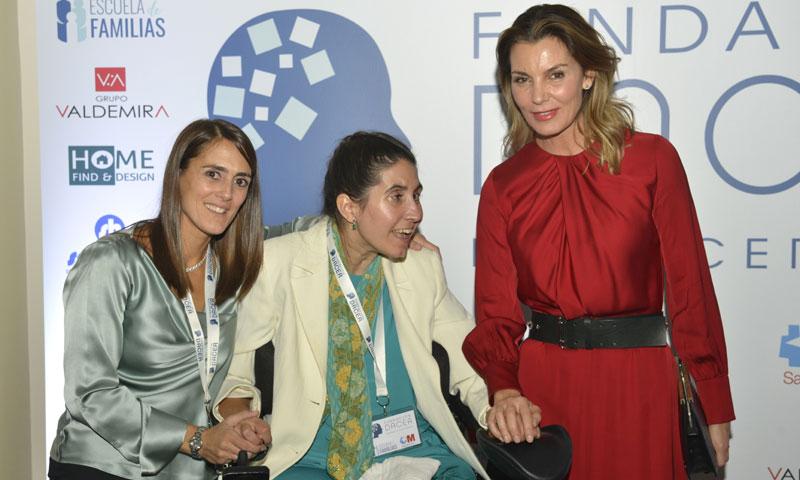 Carolina Herrera y Mar Flores muestran su apoyo a las personas que sufren daño cerebral