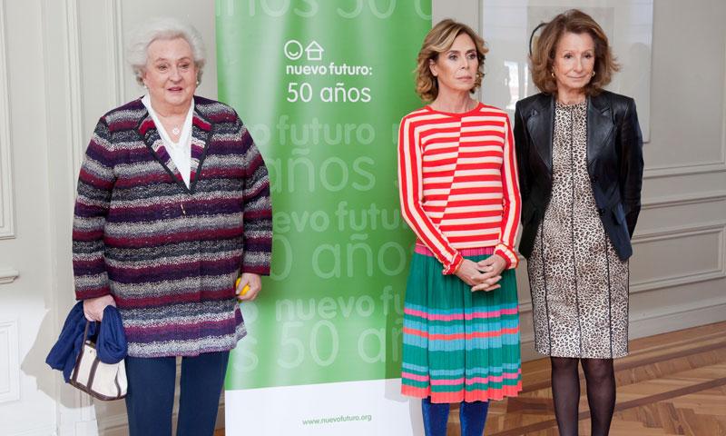 La infanta doña Pilar y Ágatha Ruiz de la Prada presentan la 50ª edición del rastrillo Nuevo Futuro