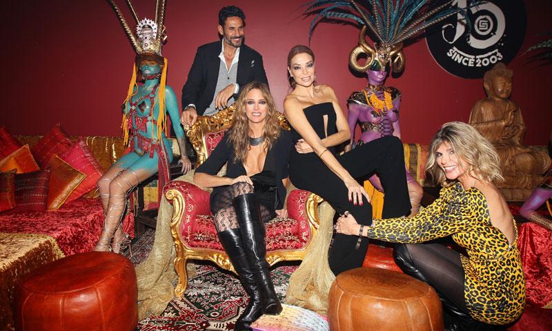 Estefanía Luyk, Arantxa de Benito y Óscar Higares llenan de glamour la noche barcelonesa