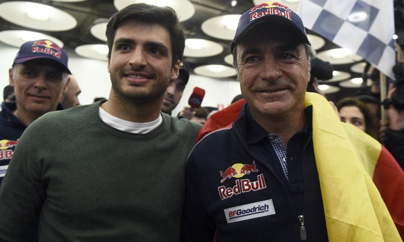 Carlos Sainz y Carlos Sainz Jr. apadrinan la 'Gran recogida de alimentos de Madrid'
