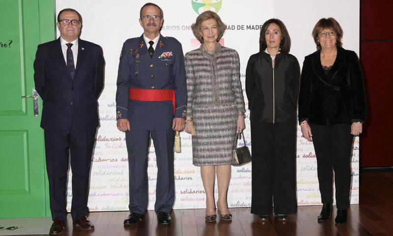 La reina Sofía recibe uno de los Premios Solidarios de la ONCE