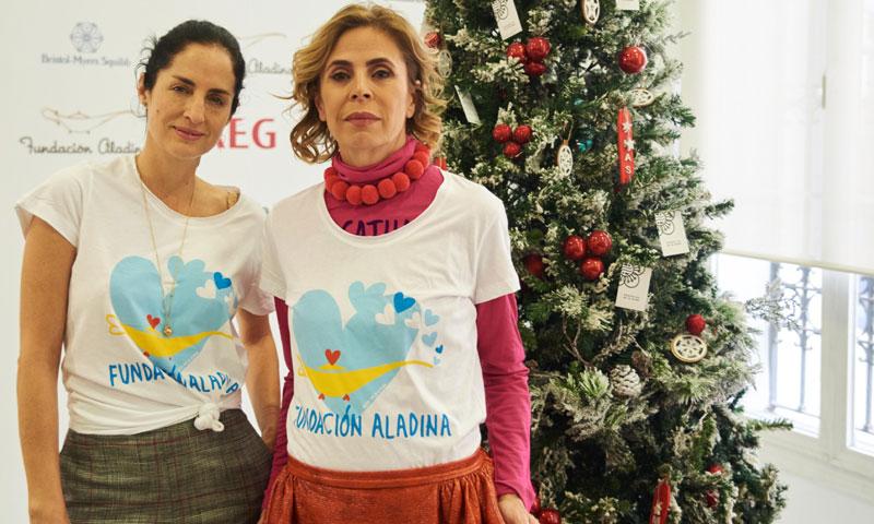 El mercadillo navideño de la fundación Aladina reúne a cantantes, diseñadores, chefs y presentadores