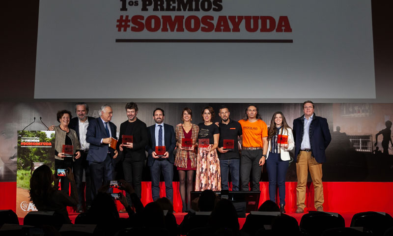 'Ayuda en Acción' reconoce la labor solidaria de José Coronado y Pablo Heras-Casado