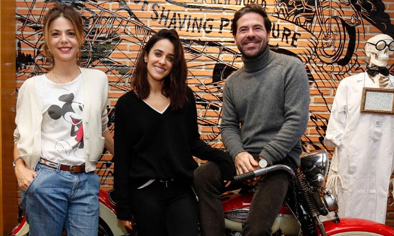 Macarena García, Manuela Velasco y Miguel Carrizo, juntos por una buena causa