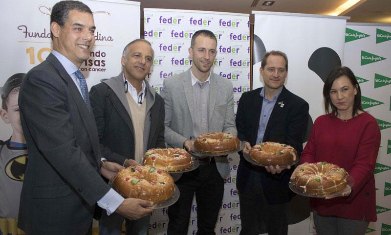 La fundación Aladina, Feder y WWF sacan a la venta su roscón solidario