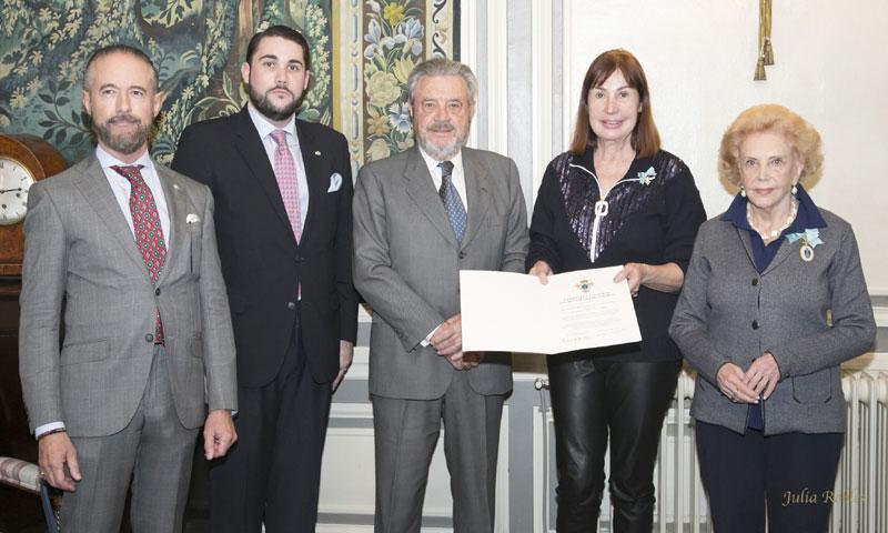 Carmen Martínez-Bordiú, nueva Dama del Cuerpo de la Nobleza de Asturias
