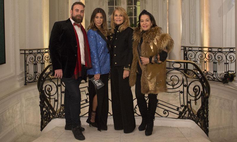 La tía de Elena Tablada, Vivian Tablada, inaugura su exposición de arte en Madrid