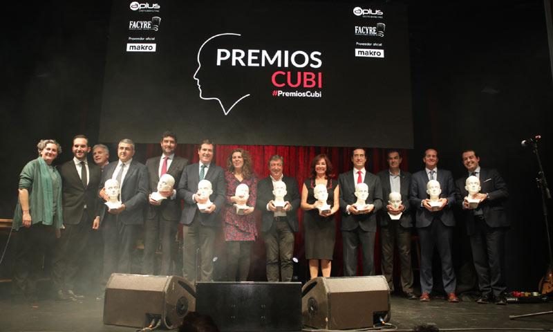 La Federación de Cocineros y Reposteros concede sus premios Cubi a la excelencia gastronómica