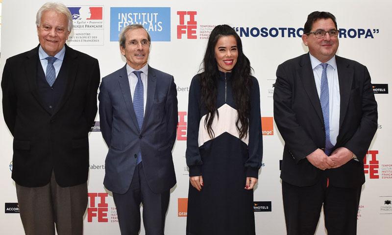 Beatriz Luengo y Felipe González apadrinan la nueva temporada cultural del Instituto Francés