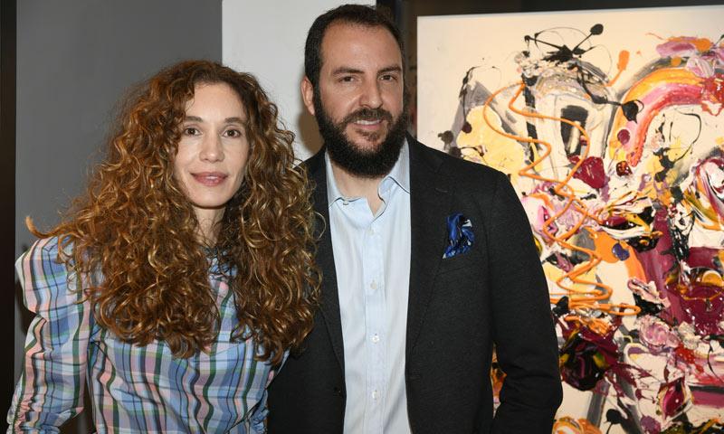 Blanca Cuesta inaugura su nueva exposición, 'Rock Art'