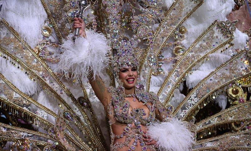 Priscila Medina, la nueva reina del Carnaval de Santa Cruz de Tenerife