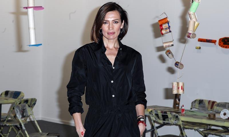 Nieves Álvarez se convierte en artista por una buena causa