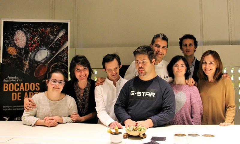 Doce artistas muy especiales interpretan la cocina de Mario Sandoval, Paco Roncero y Ramón Freixa