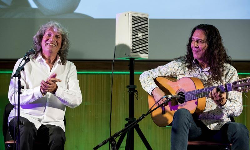 José Mercé ofrece su concierto más solidario en el Hospital 12 de Octubre de Madrid