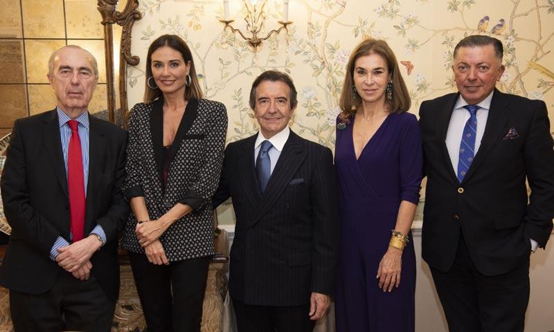 Lara Dibildos, Carmen Posadas... acuden a la cena de presentación del premio de poesía José Zorrilla