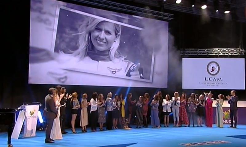 El emotivo homenaje a María de Villota durante la 39ª Gala del Deporte
