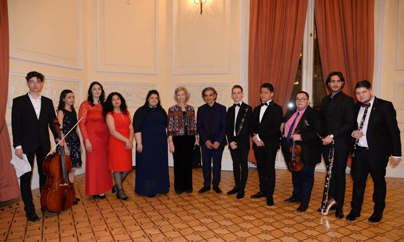 La reina Sofía y la princesa Irene de Grecia, dos invitadas de lujo a un concierto muy especial