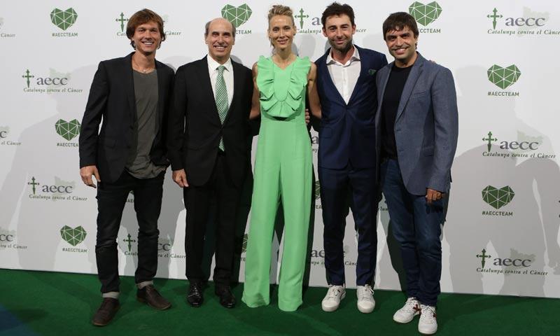Vanesa Lorenzo y Carles Puyol se unen a la 'Noche Solidaria' de la lucha contra el cáncer