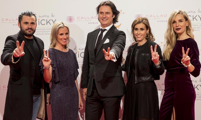 Carlos Latre, Carola Baleztena y Poty Castillo 'bailan para investigar' el cáncer infantil