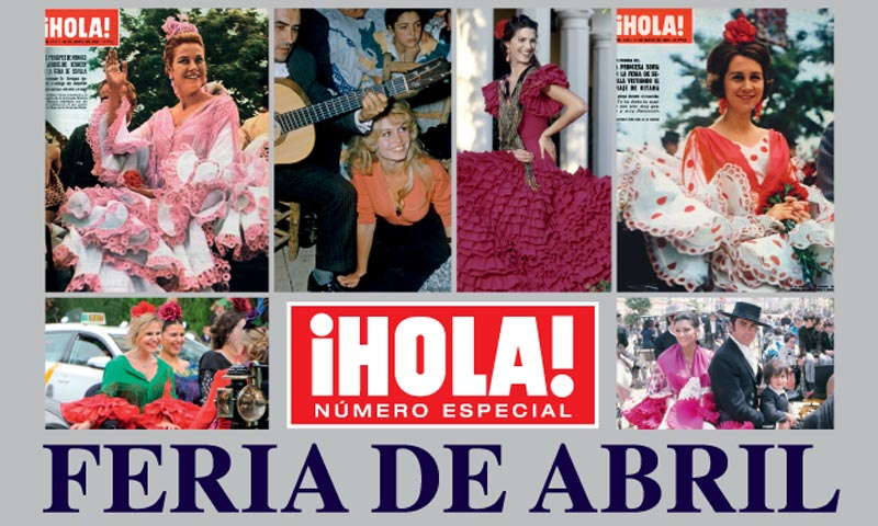 Celebra con ¡HOLA! la Feria de Abril