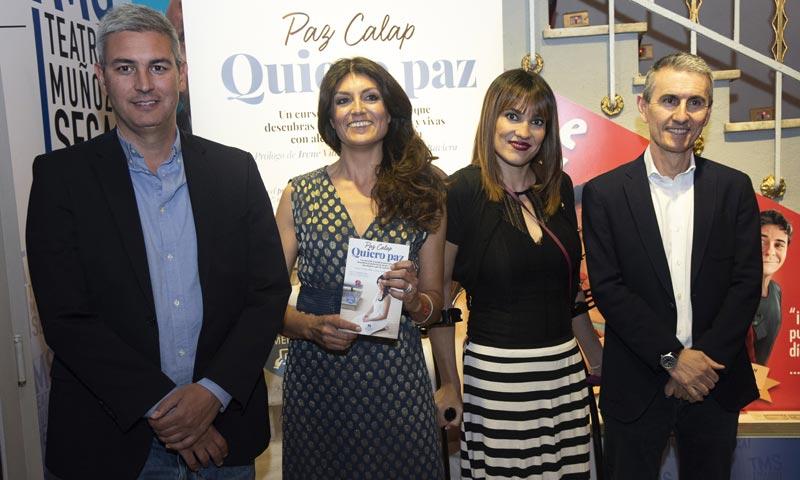 Irene Villa acompaña a la 'coach' Paz Calap en la presentación de su libro 'Quiero paz'