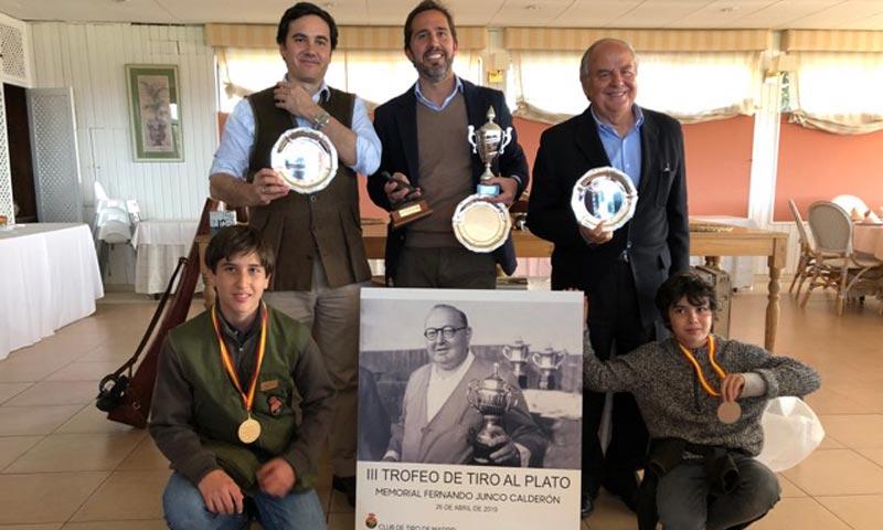 Se celebra, con gran éxito, el 'Trofeo de tiro al plato, Memorial Fernando Junco Calderón'