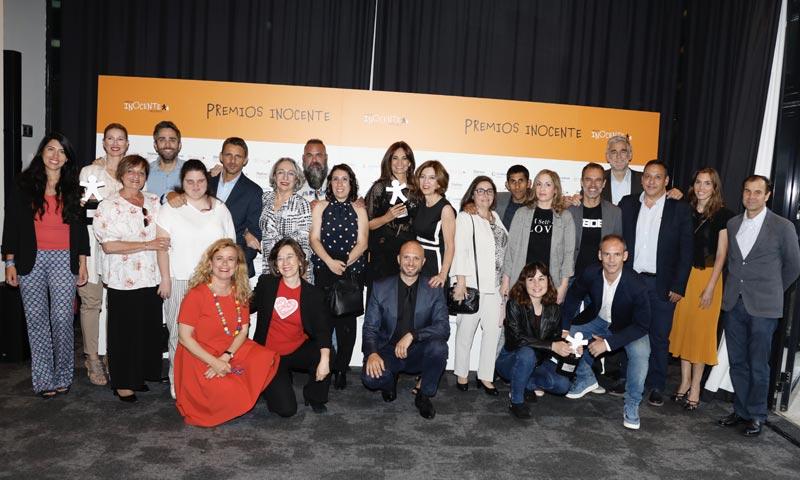 Anne Igartiburu, Mariló Montero y Nadia de Santiago, ganadoras de los Premios Inocente