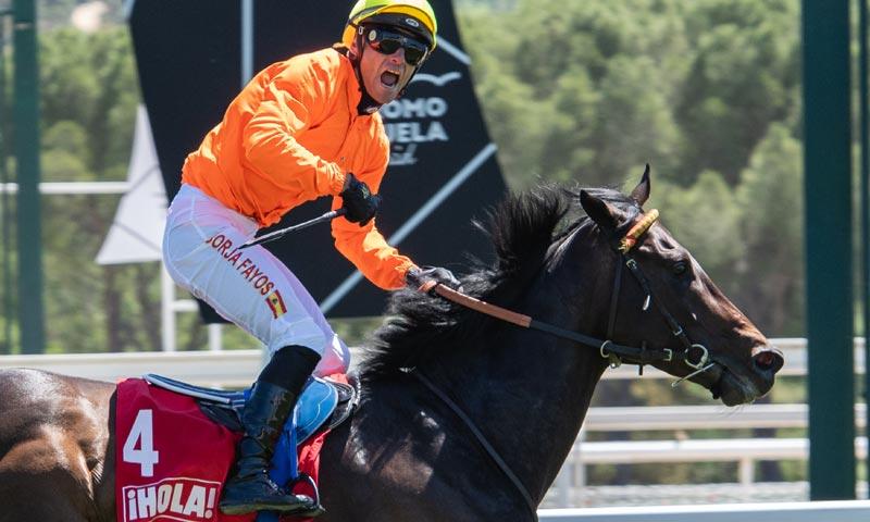 El jockey Borja Fayos gana el Premio ¡HOLA!-Nertal