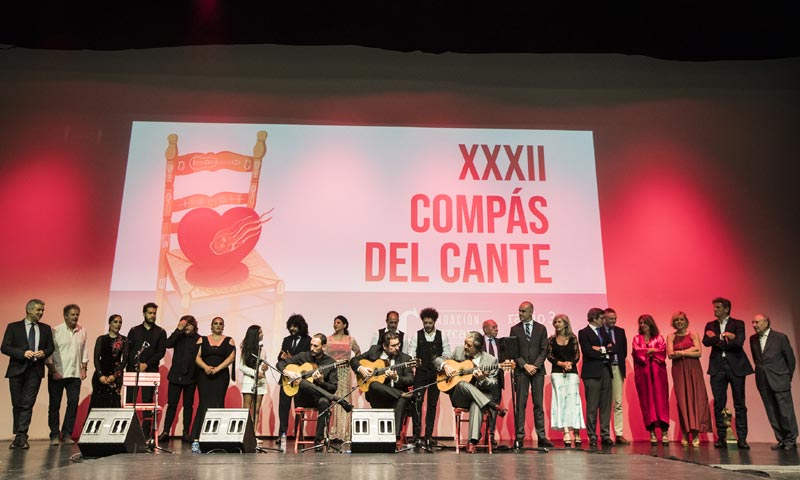 El mundo del flamenco entrega su premio 'Compás del cante'