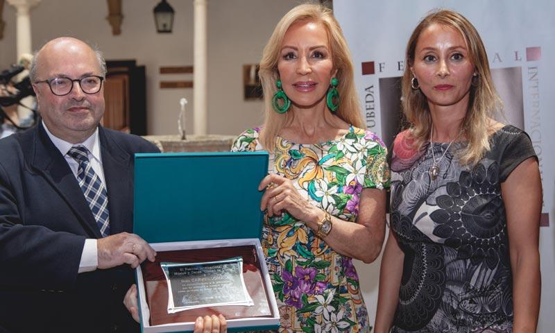 Carmen Lomana, invitada de honor al Festival de Música y Danza Ciudad de Úbeda