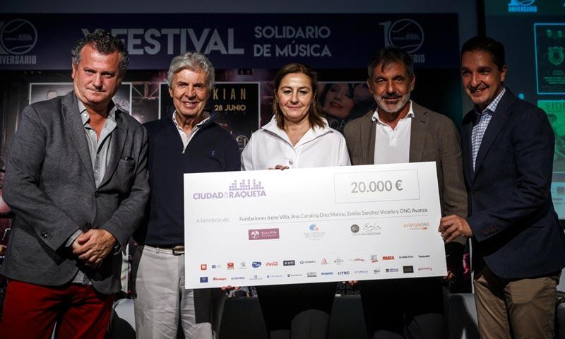 Ciudad de la Raqueta presenta su 10º Festival de Música solidario
