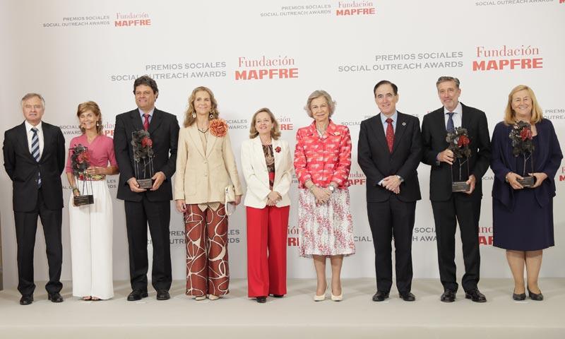La reina Sofía preside, un año más, la entrega de Premios de la Fundación Mapfre