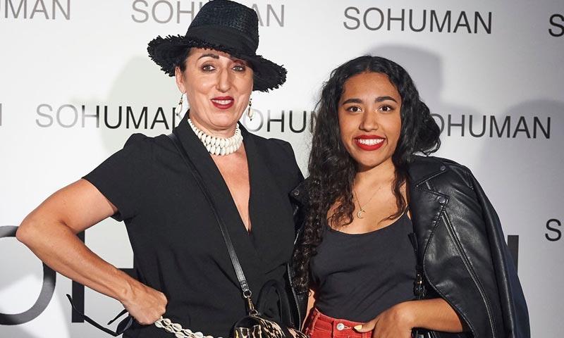 Rossy de Palma y su hija, Luna Lionne, apoyan un desfile de moda sostenible