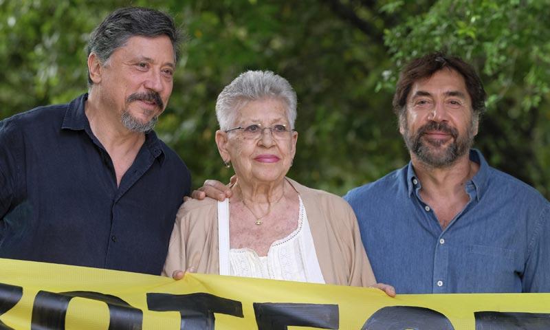 Javier y Carlos Bardem, Jon Kortajarena e Inma Cuesta, unidos por la defensa de los océanos