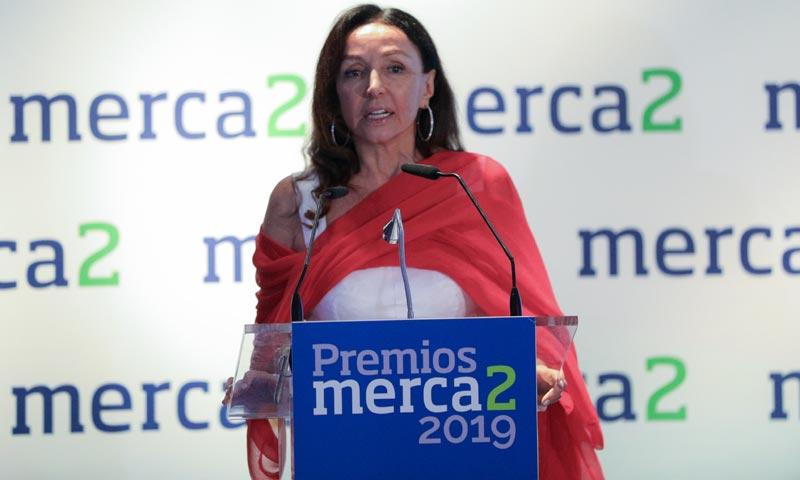 Esther Koplowitz, distinguida con el 'Premio Mecenazgo' de Merca2