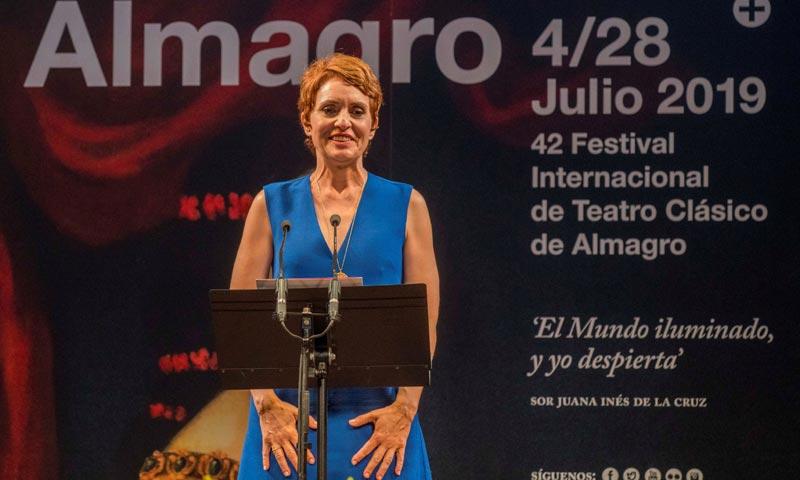Adriana Ozores recibe el 'Premio Corral de Comedias' del Festival de Teatro Clásico de Almagro