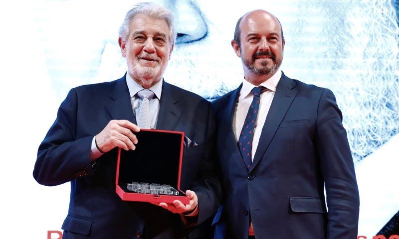 Plácido Domingo, reconocido con el 'Premio a la Excelencia de la persona'